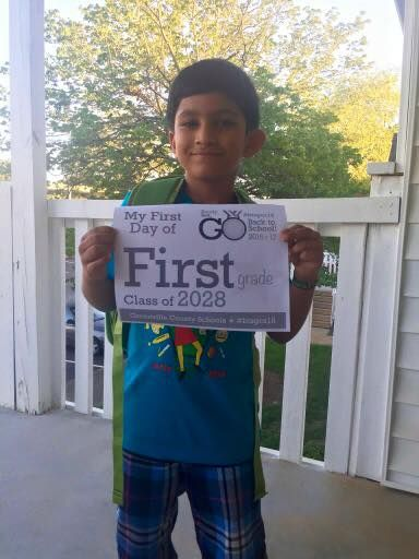 First Day of School Pictures - Photo 55