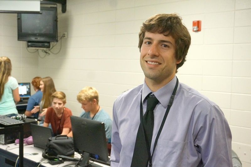 Photo of Travis Farnham, Greenville County Emerging Secondary Teacher of the Year