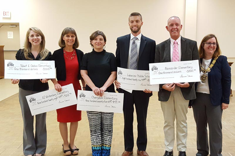 Elks Lodge Awards School Grants