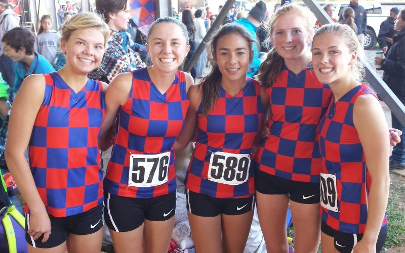 Riverside Girls Cross Country
