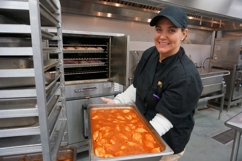Lindsey Hopkins, Assistant Food Service Manager, Stone Academy
