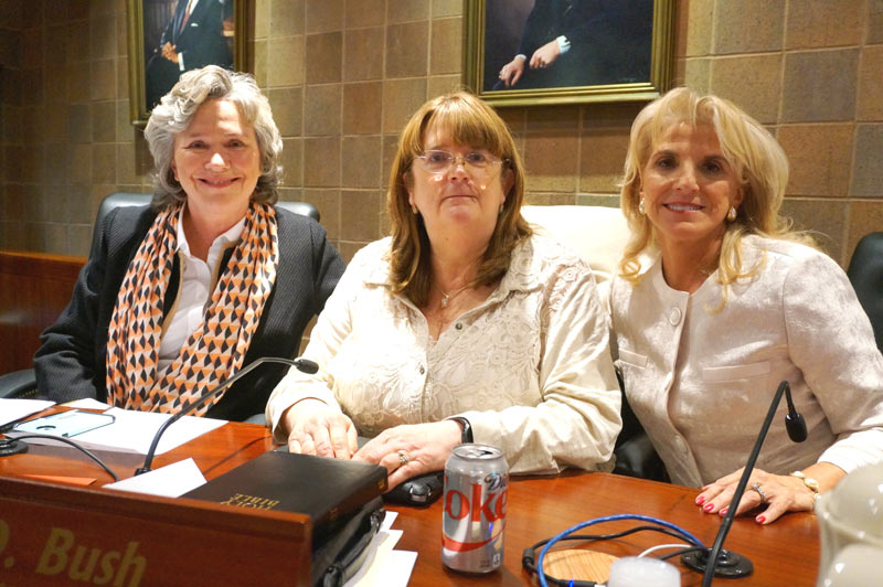 From Left to Right: Dr. Crystal Ball O'Connor, Debi Bush, and Lynda Leventis-Wells