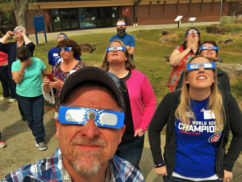 Rare Solar Eclipse Offers Opportunities for Professional Development for Teachers