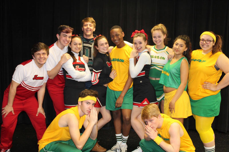 "Cast of ""Bring it On: The Musical"""