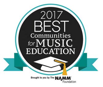 Greenville County Schools has been honored with the Best Communities for Music Education designation from The NAMM Foundation for its outstanding commitment to music education.