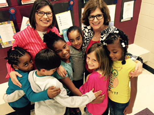 Counselors at Simpsonville Elementary provide a wide-ranging school counseling program.