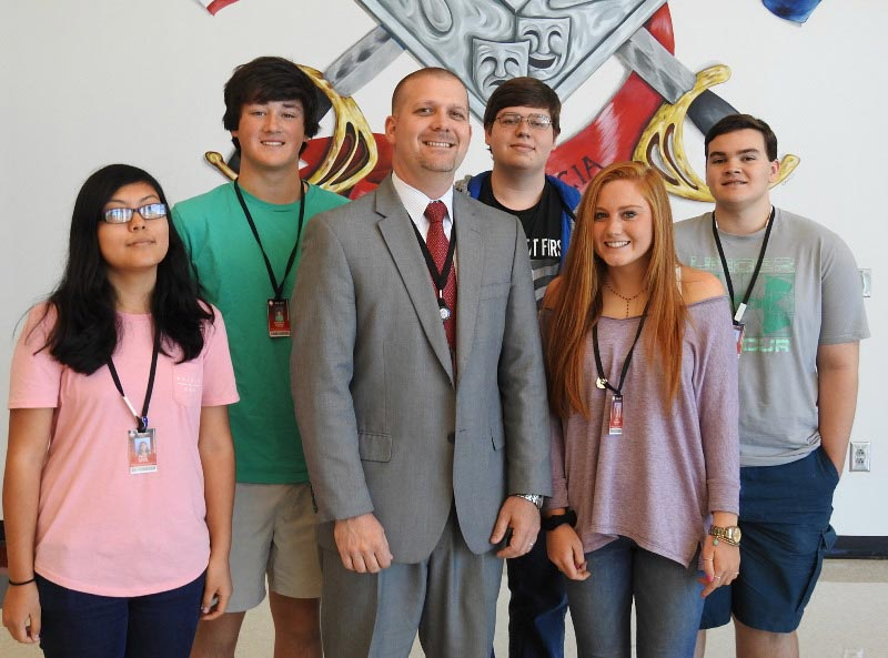 Wade Hampton High School is among 26 schools nationwide that have been re-designated a Breakthrough School by the National Association of Secondary School Principals.