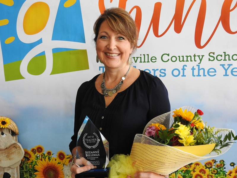 2017-18 Greenville County Schools Teacher of the Year