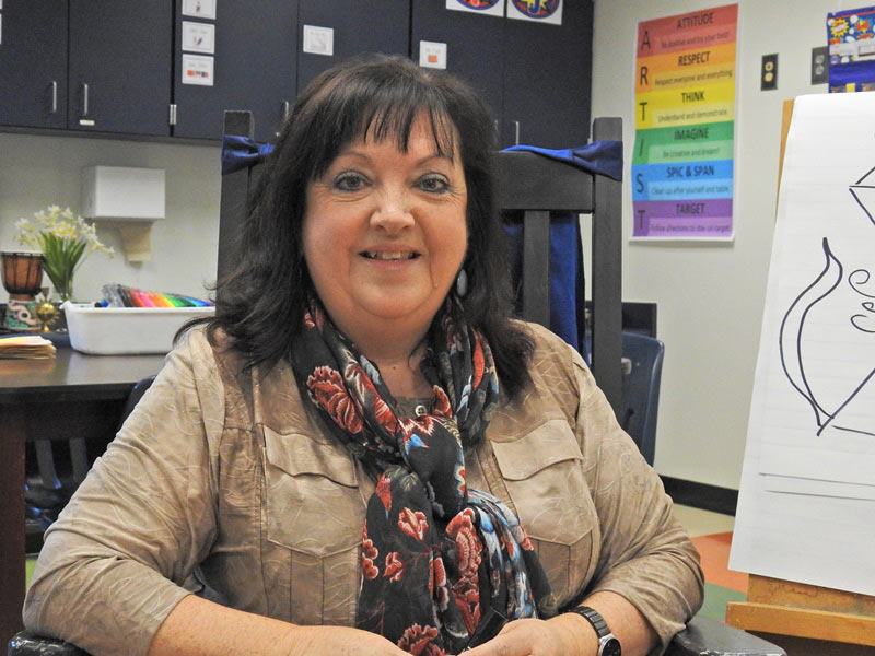 Sherry Smith, Tigerville Elementary and Mountain View Elementary schools