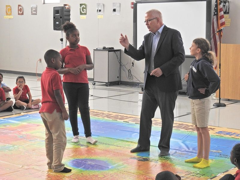 Jim Christiansen at AJ Whittenberg Elementary