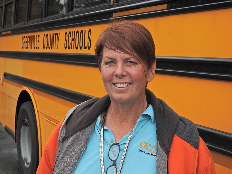 There's one thing that Donaldson Bus Center Driver Marilyn Masters is sure about: It's her job to keep students safe.