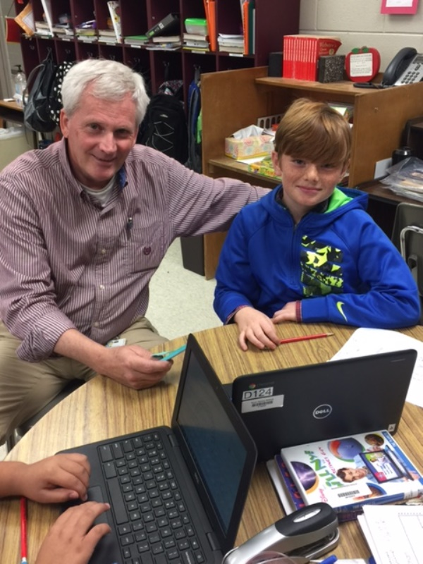 Ron Gunter, Fourth Grade Teacher, Skyland Elementary School