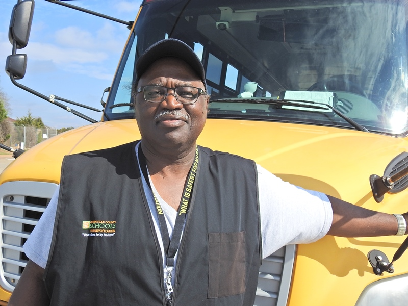 Bernard Simpson, Bus Driver, Taylors Bus Center