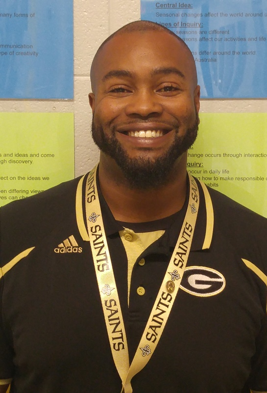 Tyson Wright, Behavior Interventionist, Chandler Creek Elementary School