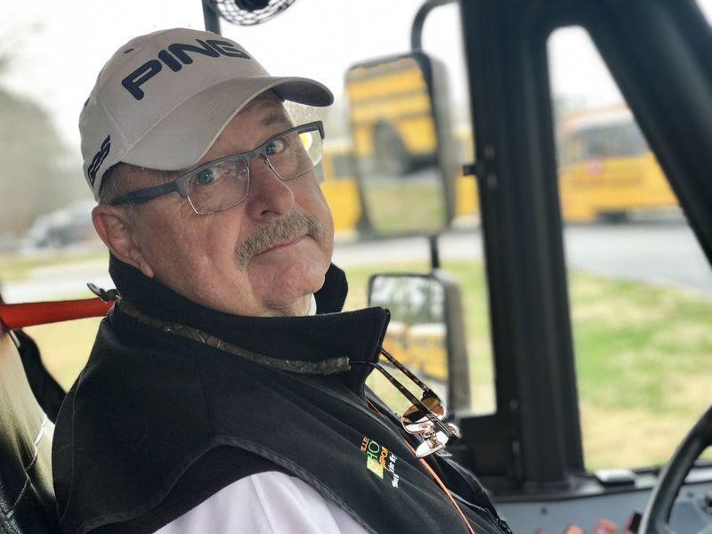 Mike Stroman retired from corporate America and has been driving a school bus for 8 years.  He enjoys golfing in between his morning and afternoon routes.