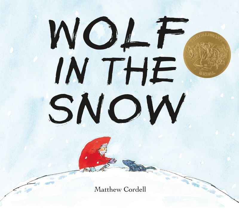Picture Book for Children, Wolf in the Snow