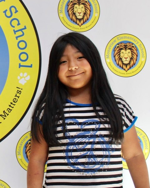 Nevaeh Sanchez, Monaview Elementary