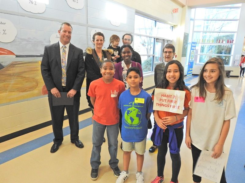Woodland Elementary Celebrates Leadership Day