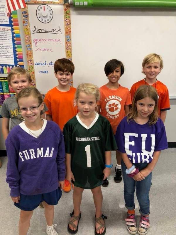 College Colors Day Photo 7