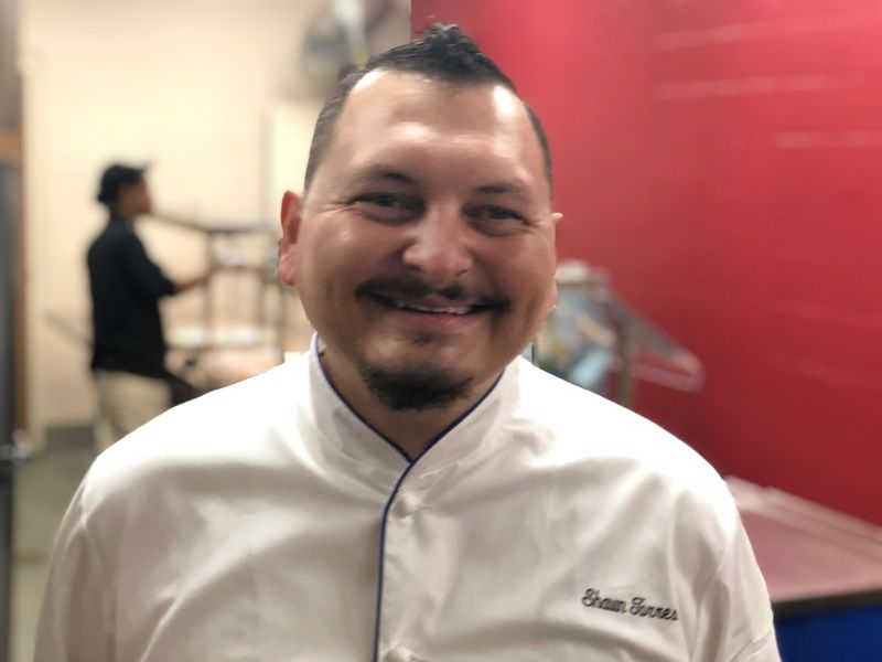 Shawn Torres, Greenville County Schools Chef