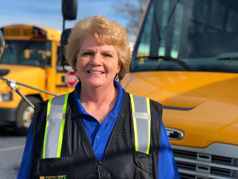 Irene Endrenyi, Bus Driver, Golden Strip Career Center