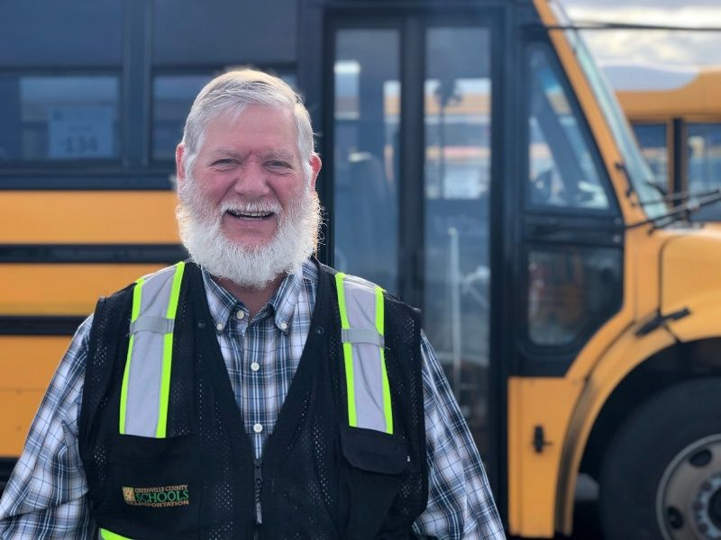 Bill Reeves, Special Needs Bus Driver, Golden Strip Career Center