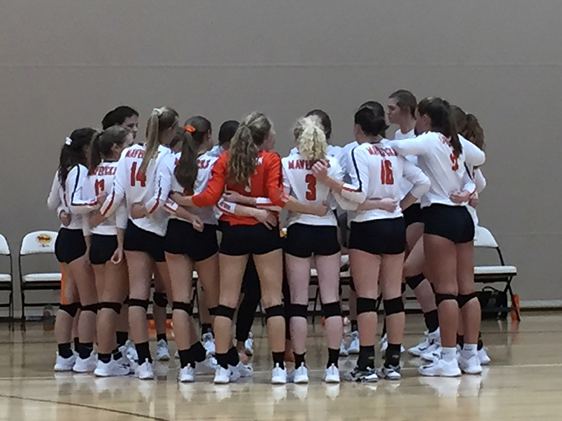 Mauldin Hosts Dorman in AAAAA Upper State Volleyball