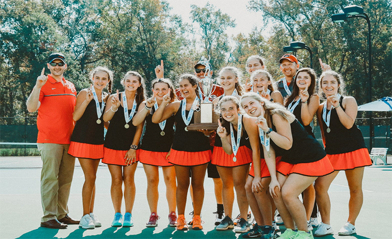 Greenville Girls Tennis Repeats as AAAA State Champions