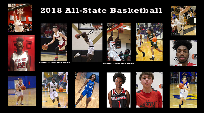 GCS Athletes Earn All-State Recognition
