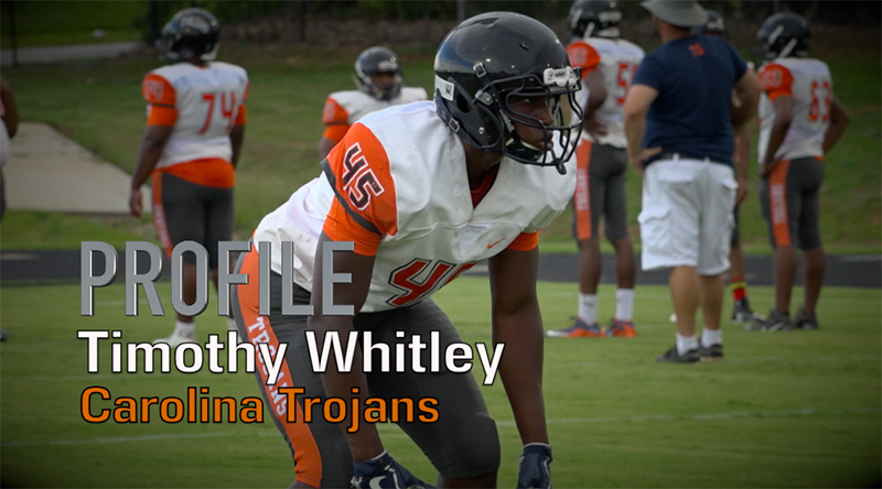 Profile: Tim Whitley, Carolina High