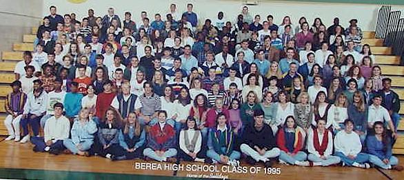 Berea High School. Class of 1995