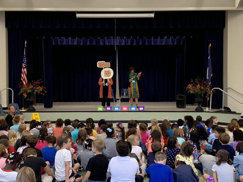 One School One Book Assembly