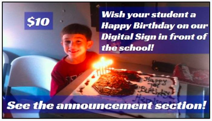 BIrthday Sign Image