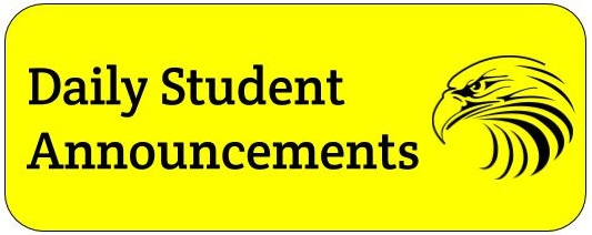 Daily Student Announcements