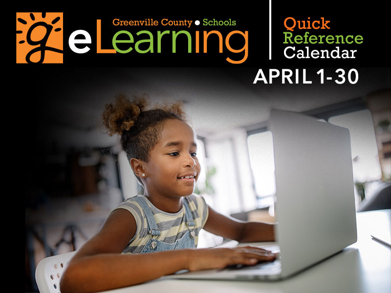 eLearning April Calender