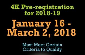 K4 Registration 2018-2019