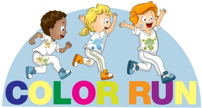 Color Run Clipart