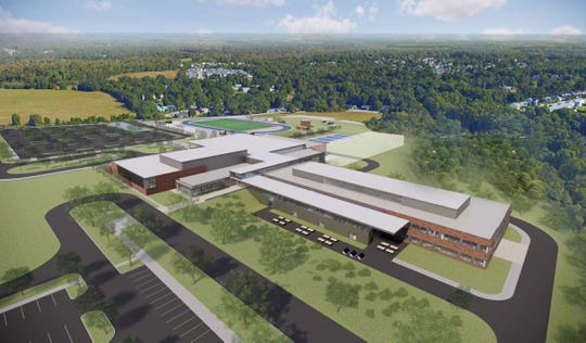 New Fountain Inn HS Rendering