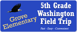 5th Grade Washington DC Field Trip Online Payment