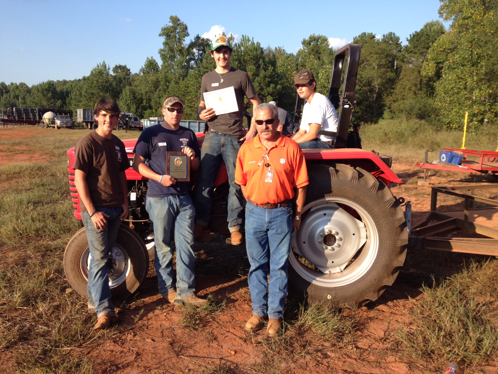 HHS Ag Equipment Team
