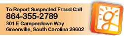 Click to report suspected fraud