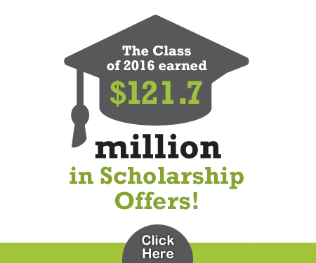 Class of 2016 Receives $121.7 Million in College Scholarship Offers