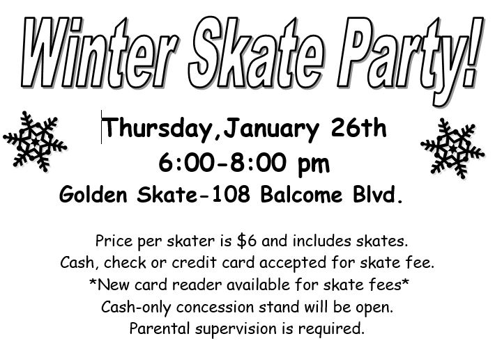 Winter Skate Party