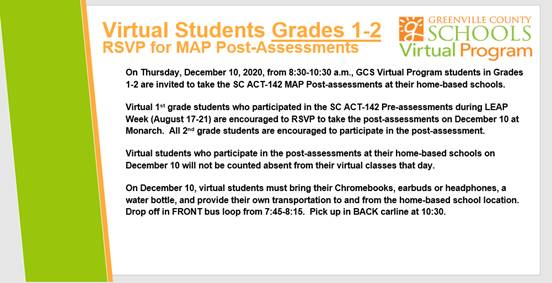 RSVP for Post-Assessment Grades 1-2