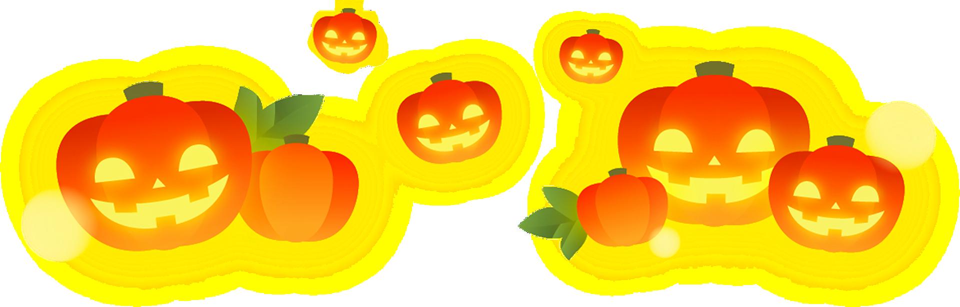 pumpkins and jack-o-lanterns