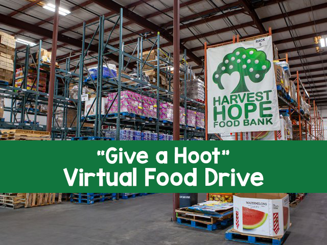 Virtual Food Drive for Harvest Hope Food Bank