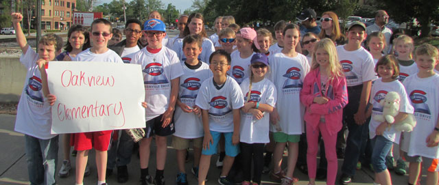 Greenville Drive Reading All-Stars Participants