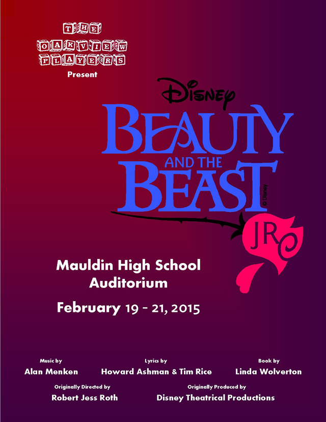 Oakview Players Present: Beauty and the Beast