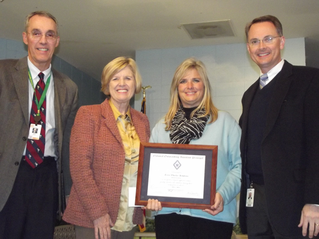 Terri Wheeler Hawkins receives national award