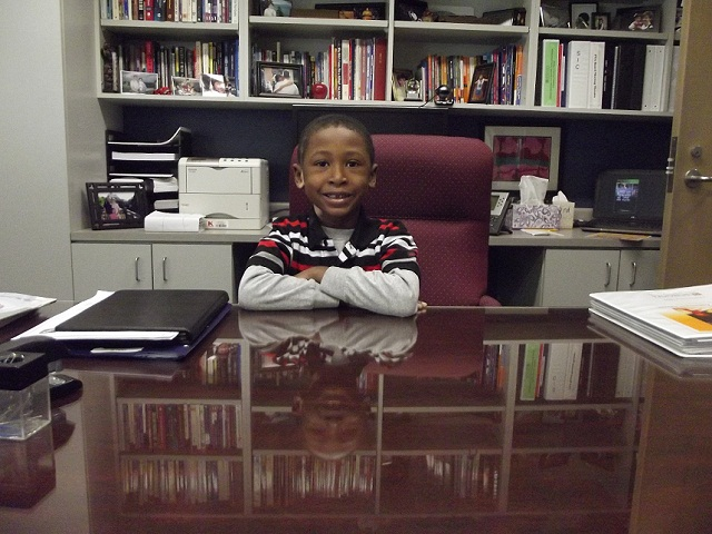 Zy Brown, Principal for the Day